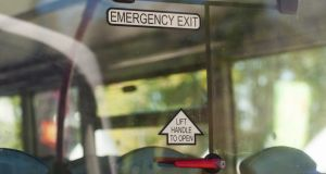 Many schoolbuses are likely to operate without social distancing when schools reopen. File photograph: iStock
