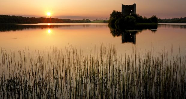 Clough Oughter Castle, Lough Oughter, Co Cavan