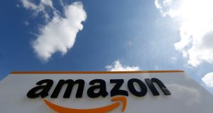 Amazon employs 4,000 people directly in Ireland, with research commissioned by the company estimating there are an additional 9,700 people employed due to its investments, including in wind farms. Photograph: Reuters