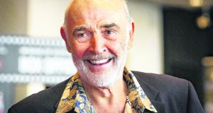 Scottish actor Sean Connery at 90. Photograph: Danny Lawson/PA Wire