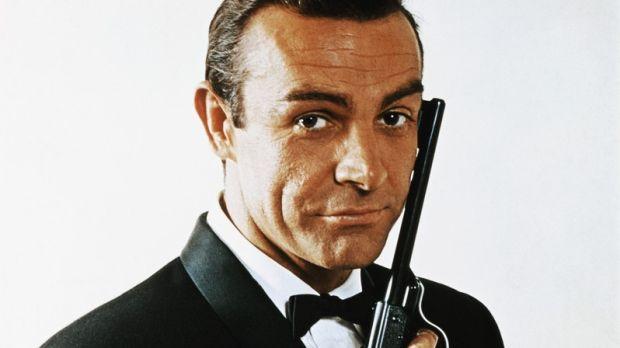 Sean Connery as James Bond in 1968. Photograph: Bettmann/Corbis