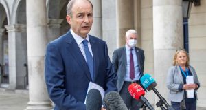 Taoiseach Micheál Martin needs to earn our backing by communicating frankly with us. Photograph: Paul Faith/AFP via Getty Images