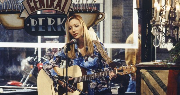 Lisa Kudrow as Phoebe Buffay at the Central Perk cafe in Friends. Photograph: NBCUniversal/Getty Images