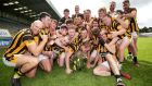 Shelmaliers celebrate their victory in the Wexford SHC final. Photograph: Laszlo Geczo/Inpho