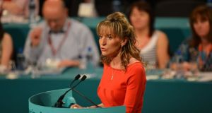 Sinn Féin Derry Assembly member Martina Anderson faced a furious backlash from unionists and the SDLP after posting on social media. File photograph: Alan Betson