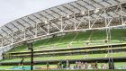 Virgin Media subscribers won't have access to this weekend's inter-pro fixtures at the Aviva Stadium. Photograph: James Crombie/Inpho