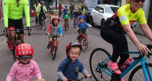 The Clonakilty Bicycle Festival   hosted family fun cycles in July and August to encourage children to cycle to school