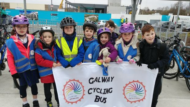 The Galway City Bus group includes about 16 children and five adults every day