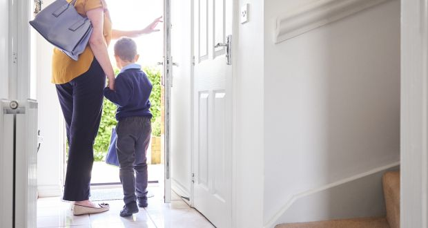 Staggered drop-off and collection times for children,  no car-pooling and, in many cases, a hold on afterschool activities mean parents are facing further difficulties. Photograph: iStock