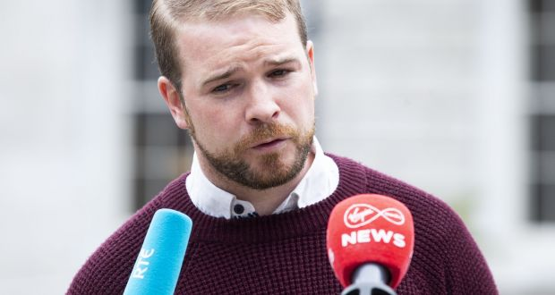 Sinn Féin's education spokesman Donnchadh Ó Laoghaire: 'It is a disgrace that parents and relatives with underlying conditions have been kept in limbo.' Photograph: Tom Honan/The Irish Times