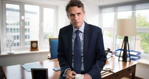 Minister Gavin Williamson, a key aide in Johnson's personal rise, stays in place. Photograph: Stefan Rousseau/PA Wire