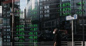 On Monday markets were bolstered by data showing further improvement in China's services sector, while Japanese equities recovered from declines last week.