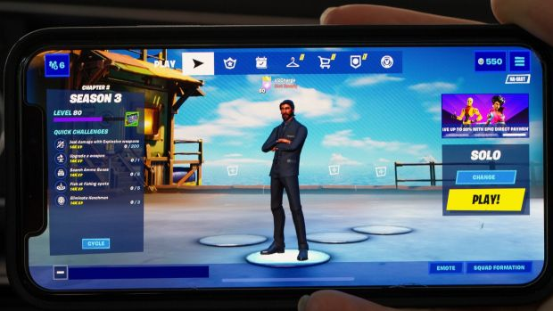 Before this dispute, iPhone owners had downloaded Fortnite 133 million times and spent $1.2 billion to date, according to analytics provider Sensor Tower. Photograph: CJ Gunther/EPA