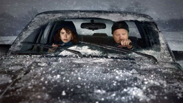 Jessie Buckley and Jesse Plemons in I'm Thinking of Ending Things (2020). Photograph: Netflix