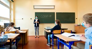 Fórsa members in the education sector were reporting that a number of schools have either refused to purchase personal protective equipment 'or are requiring staff to reuse face masks contrary to HSE advice'. Photograph: iStock