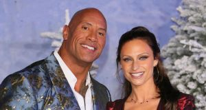 US actor Dwayne Johnson said he and his wife, Lauren Hashian, had 'a rough go' with coronavirus. File photograph: Jean-Baptiste Lacroix/AFP/Getty Images