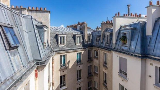 Appartement sur les toits à Paris 17