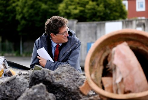 Minister for Climate Action Eamon Ryan will introduce ambitious new targets to tackle waste and move towards a circular economy under a new plan announced today. Photograph: Maxwells