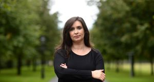 Dr Aoibhinn Ní Shúilleabháin revealed how she had been subject to regular harassment by a professor at the university. Photograph: Dara Mac Donaill/ The Irish Times