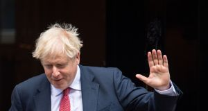 British prime minister Boris Johnson says the  negotiations with the EU are entering their final phase.  Photograph:  Dominic Lipinski/PA Wire