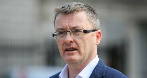 Sinn Féin TD David Cullinane said any move to disregard the withdrawal agreement 'simply cannot be allowed' as it would be in contravention of an international agreement, not just an agreement with Ireland and Europe. Photograph: Gareth Chaney/Collins.