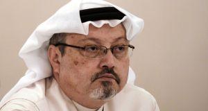 Saudi journalist Jamal Khashoggi. Photograph: Mohammed Al-Shaikh via Getty