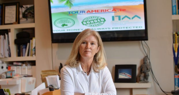 Managing director of Tour America  Mary McKenna had a profitable business until March which employed more than 50 people. Photograph: Alan Betson/The Irish Times