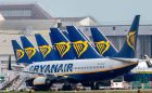 The index was dragged down by a fall of about 2.2% for Ryanair, with the carrier closing at €11.80 on another weak day for airlines across Europe. File photograph: Getty