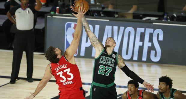 Nba Round Up Celtics Demolish Raptors For 3 2 Series Edge