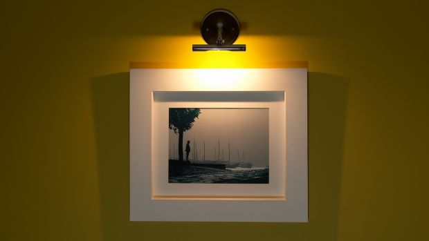 'The frame should never be too heavy, as it can take away from the picture'