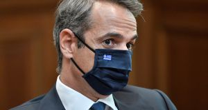 Greek prime minister Kyriakos Mitsotakis: In the same way as Phil Hogan, his attitude underlines the dangers of arrogance in national and international politics. Photograph: Louisa Gouliamaki