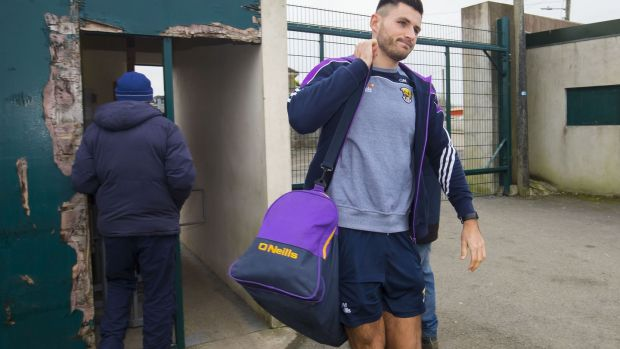 Glen Malone is enjoying playing under Paul Galvin with the Wexford footballers. Photograph: Tom O'Hanlon/Inpho
