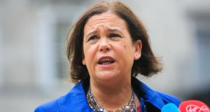 Sinn Féin president Mary Lou McDonald: 'We can change Ireland. How exciting is that?' File photograph: Gareth Chaney/Collins