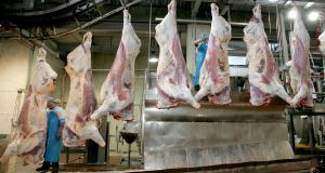 Meat processing plants have been among the most vulnerable settings in terms of the spread of the coronavirus in the State. File photograph: David Sleator