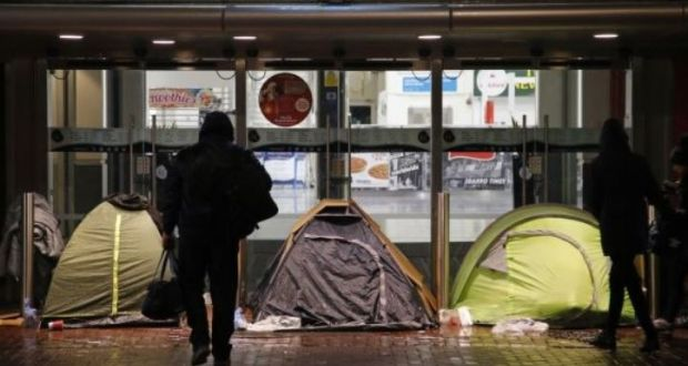 The Dublin Simon Community has reported an 18 per cent increase in demand for homeless healthcare services. File photograph: The Irish Times