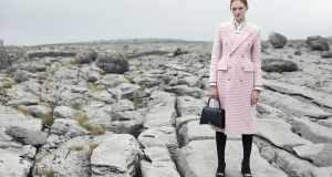 Pink houndstooth from Balenciaga (€2790)