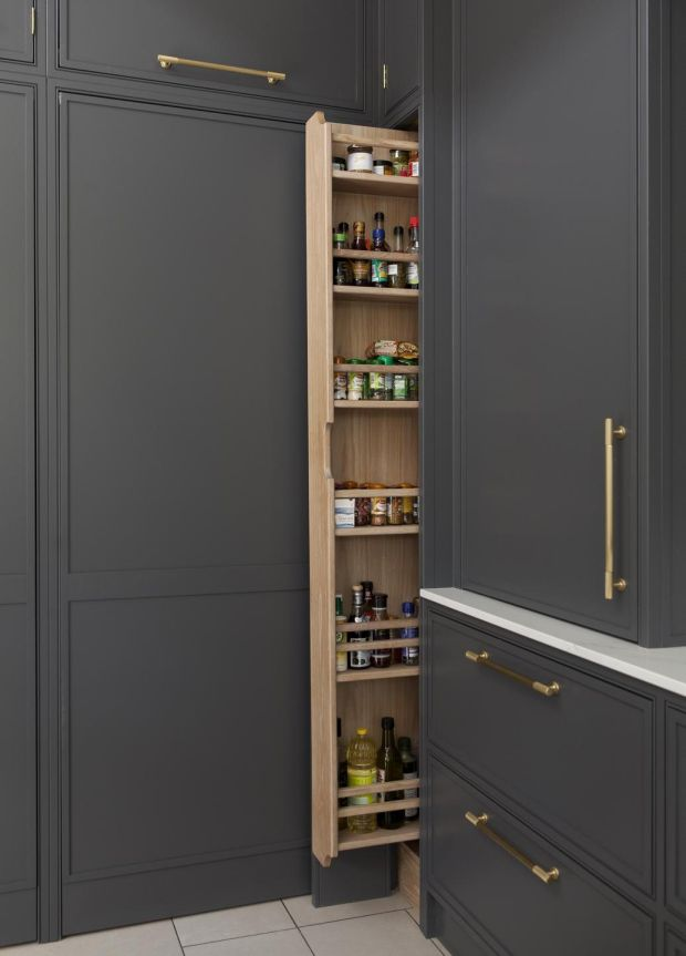 Space Savers Storage Tips For An, Tall Kitchen Cabinets Ireland