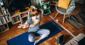 Taking a few minutes each day to exercise or practise yoga can help relieve stress. Photograph: iStock