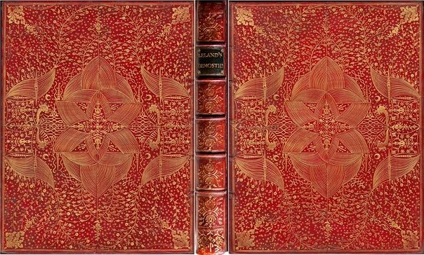 Our most beautifully-bound book, from 1762