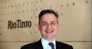 Chief executive Jean-Sebastien Jacques, who has led Rio Tinto since 2016, will step down by March 31st.