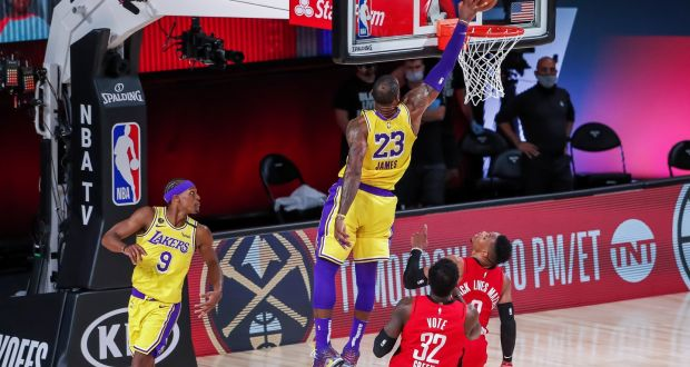 La Lakers Use Size Advantage To Dominate Houston Rockets