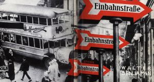 Cover design for Einbahnstraße (One-Way Street) by Walter Benjamin, 1928. Photograph: Fine Art Images/Heritage Images/Getty
