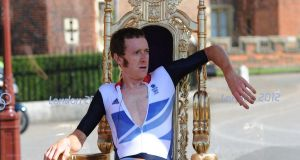As a sports star Bradley Wiggins knows fine well the relevance of nationality. Photo by Ben Radford/Corbis via Getty Images
