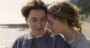 Kate Winslet and  Saoirse Ronan star in Francis Lee's Ammonite, an awards contender when the Oscars eventually roll around.
