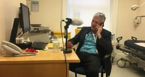Jack Lambert of the Mater hospital in Dublin speaking to The Irish Times's Confronting Coronavirus podcast in April.