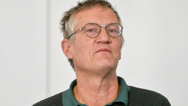 State epidemiologist Anders Tegnell of has become one of the best known – and most controversial – figures of the global coronavirus crisis. Photograph: Anders Wiklund/TT News Agency/AFP via Getty Images
