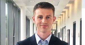 Cian O'Connor: 'Don't rush into a role just for the sake of it, or don't be pressurised to have a job lined up straight away once you finish your studies.'