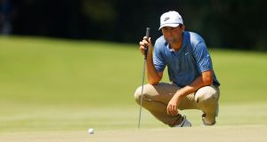 Scottie Scheffler will miss this week's US Open after testing positive for Covid-19. Photograph: Sam Greenwood/Getty