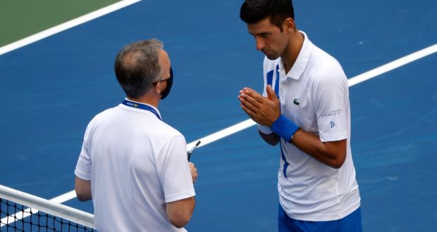 Djokovic Says Us Open Disqualification Was A Big Lesson