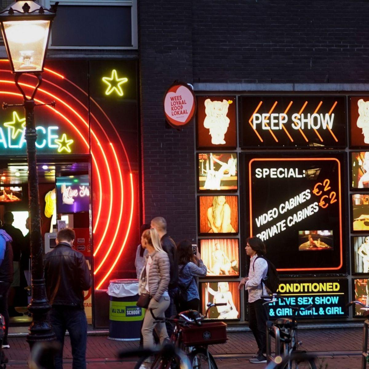 Amsterdam quarter red light Red Light